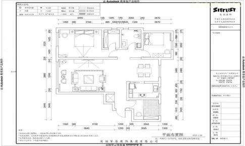 清新田园风格 颐和广场128平三居室精装修|青岛实创装饰