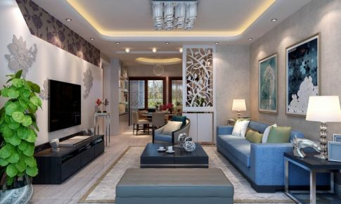 鲁达国际-118㎡样板房-在时尚和繁复中恢复简单的天性