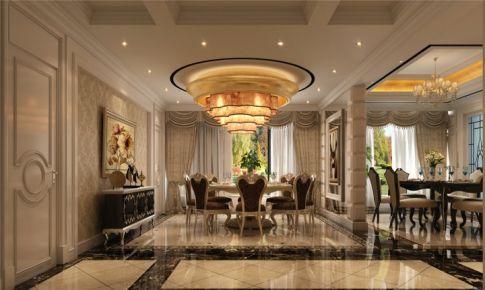 中海紫御豪庭大平层装修法式风格设计