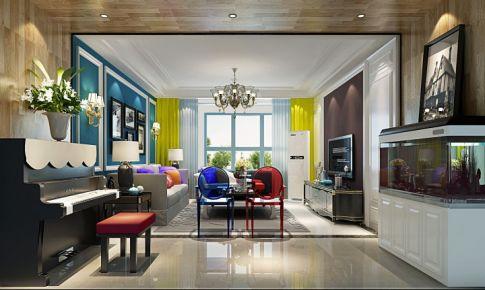美式风格-炫彩,顶层阁楼设计