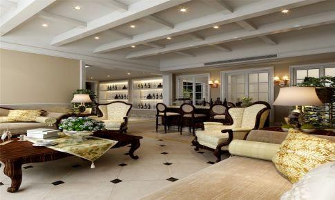 向东岛别墅装修欧式古典风格设计