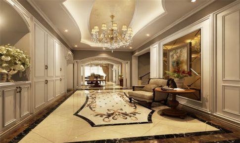 东郊紫园别墅装修奢华欧式古典风格设计
