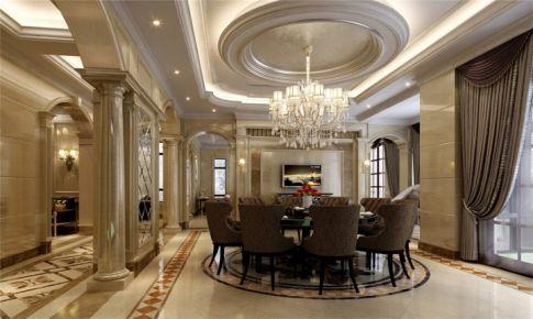 别墅装修奢华古典欧式风