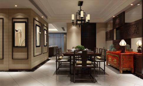 浦江坤庭别墅装修新中式风格设计