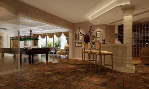 绿洲千岛别墅装修美式风格设计方案