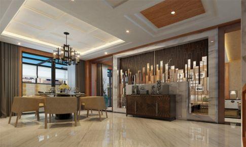 浦江坤庭别墅装修现代风格设计方案展示