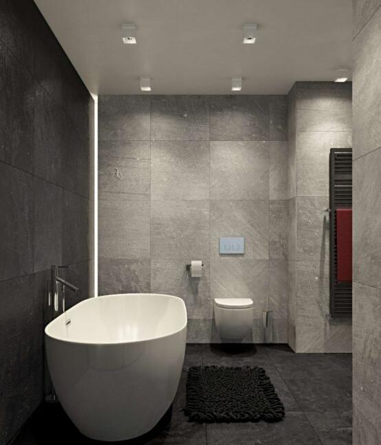 黑白灰简约风格装修效果图 低调的奢华
