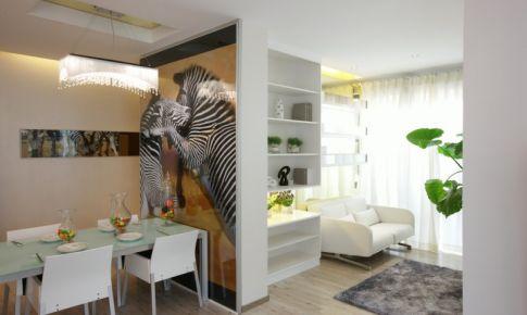 上海聚丰景都现代风格样板房设计