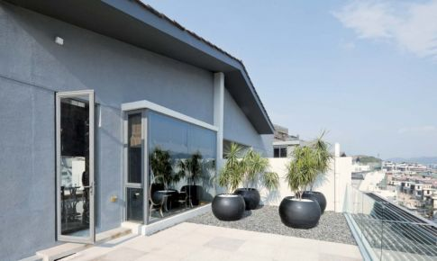 上海南汇新城镇临海私人别墅设计
