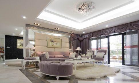 上海浦东罗家塘现代风格家装设计