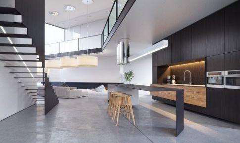 现代都市风格别墅设计