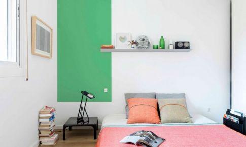 色彩缤纷的家具也能营造不一样的气氛