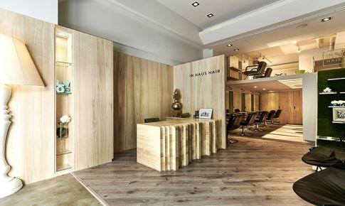 清新自然的北京理发店设计