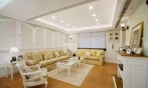 中山三室两厅韩式田园风装修案例