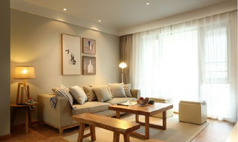 【武汉室内设计】原木清香,舒适宜人,7万打造广电兰亭时代79平闲适二居生活。