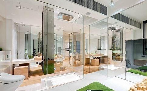 玻璃墙饰不易对床 玻璃隔房不宜