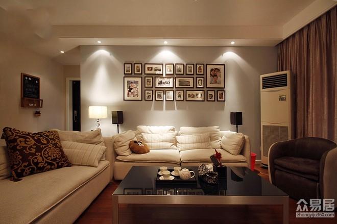 珠海简约欧式风格房屋装修设计_众易居装修效果图大全