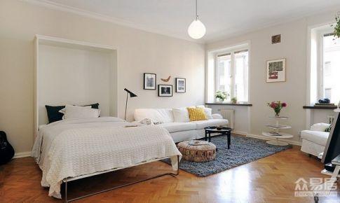 42平米北欧风格小公寓 小户型也宽敞