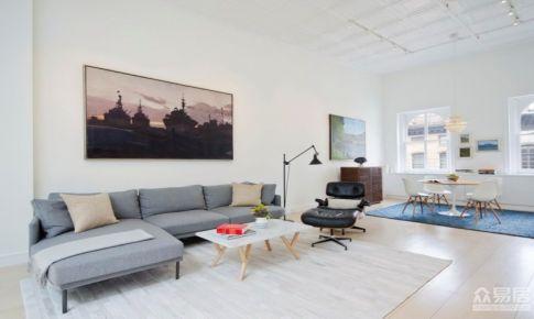 Loft公寓设计 简约明亮的家居