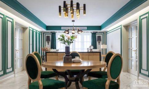 镇江优雅的美式风格房屋装修设计