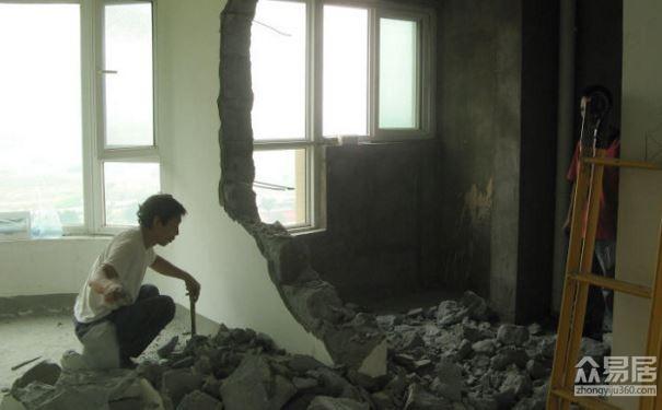 拆牆過程注意事項牆面正確拆改方法