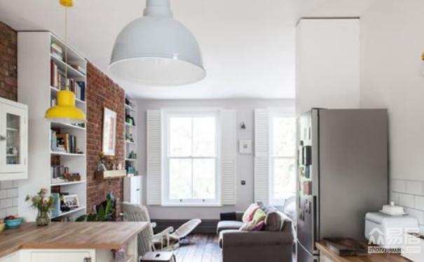 常熟80平小户型公寓 亮亮堂堂的多彩生活