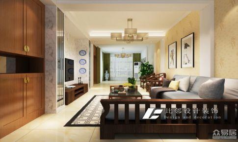 千年美丽15#101室--客厅效果图