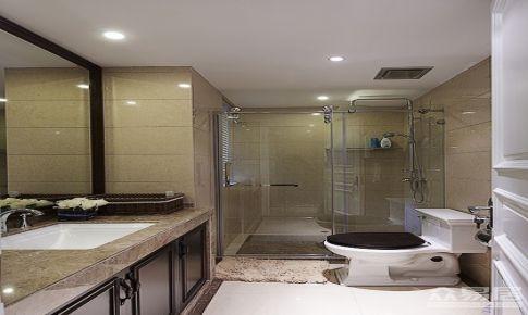 130平四室一厅美式装修效果图