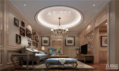 英伦联邦325平米别墅欧式混搭风格设计案例