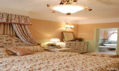 广州自由人花园欧式田园风格两居室房屋装修