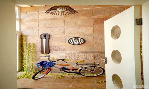广州中航城现代风格三居室房屋装修设计