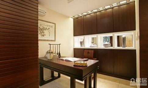 杭州嘉丰万悦城中式风格190平复式房屋