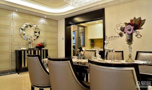 上海龙湖北城天街现代浪漫主义别墅设计