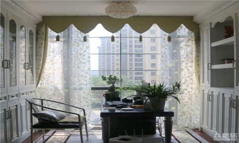 上海朗诗里程新古典风格四居室房屋