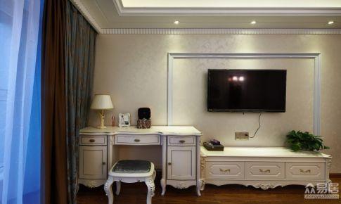 温州君悦豪庭清新的欧式风格四居室房屋装修