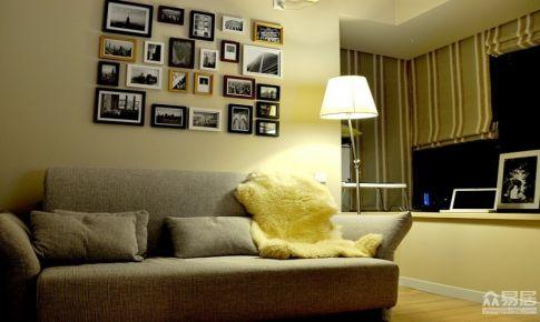 100平米三室一厅装修图片
