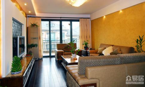 上海琉森公馆混搭风格220平三居室