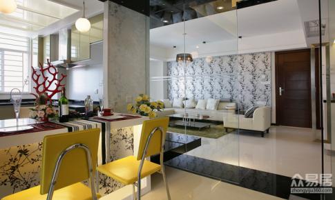 上海金领国际清新现代风公寓设计