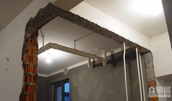 结构拆改不可大意 不可拆与可拆结构的细节盘点