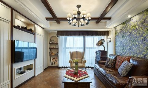 三居室复古美式