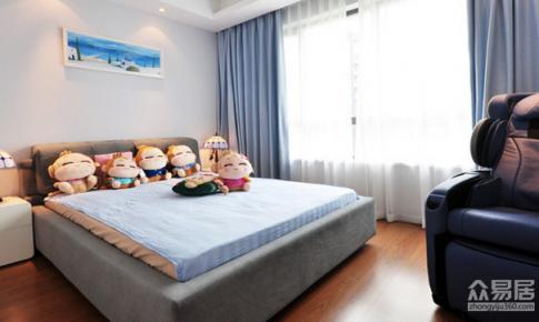 杭州阳光郡170平欧式风格三居室