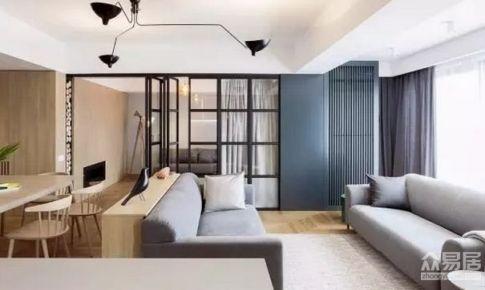 上海中星凉城西苑120平米简约风格三居室