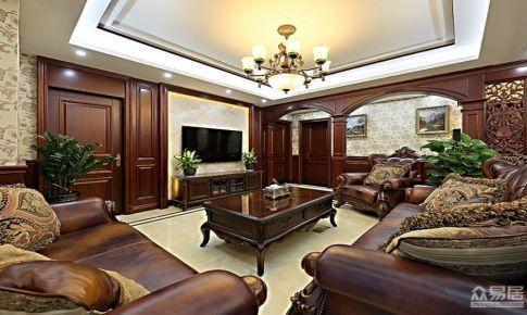梧桐南山142平新中式风格三居室