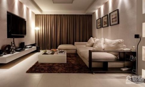 上海尼德兰花园115平米简约风格三居室