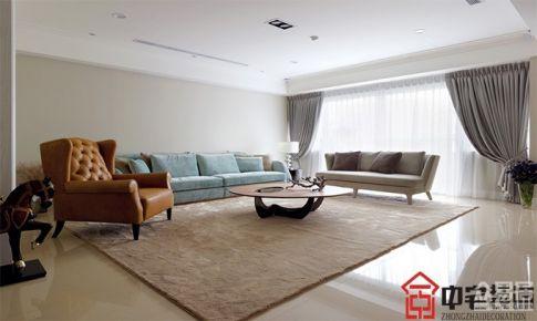 江西南钢大厦欧式风格三居室