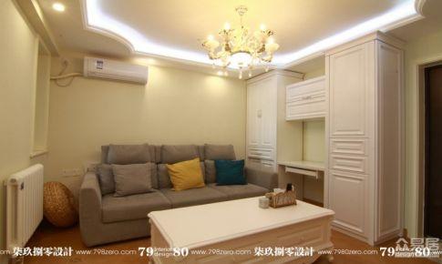 北京七九八零室内设计实景案例田园风格