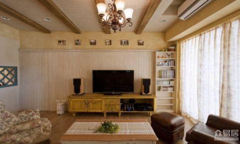 深圳前海丹华87平美式三居室