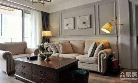 深圳博林天瑞120平米美式风格三居室