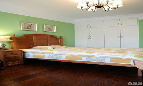 杭州万科湖心岛168平美式四居室