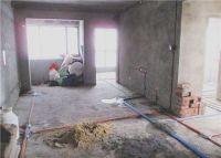 佛山绿岛明珠小区家装施工现场